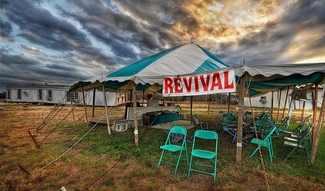 The Surgical Waiting Room Revival Tent